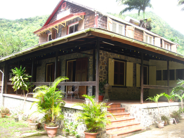 Dominica Real Estate Colonial Style House For Sale In